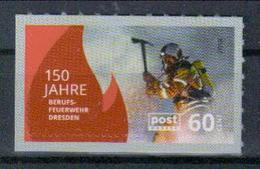 Deutschland PostModern '150 J. Feuerwehr Dresden' / Germany '150th Ann. Of Dresden Firefighters' **/MNH 2018 - Feuerwehr