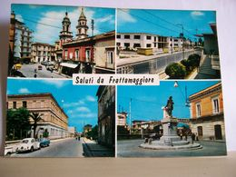1965 - Napoli - Saluti Da Frattamaggiore - Vedute - Monumento - Chiesa - Auto Maggiolino WV - Saluti Da.../ Gruss Aus...