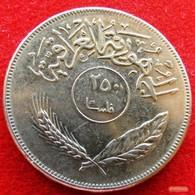 Iraq 250 Fils 1970 KM# 130  Iraque Irak - Iraq