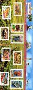France.bloc No 68 De 2004.portraits De Regions.n**. - Sheetlets