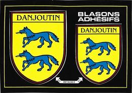 BLASON ECUSSON ADHESIF AUTOCOLLANT DANJOUTIN - Danjoutin