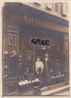 PHOTO ANCIENNE,80,SOMME,AMIENS,RUE DES TROIX CAILLOUX,MAGASIN DE CHAUSSURES,COMMERCE,RARE - Lieux