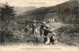 D06  Man?uvres Dans Les Alpes  - En Tirailleurs  .......Postée De Luceram Datée De Paira Cava - France