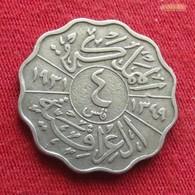 Iraq 4 Fils 1931 KM# 97  Iraque Irak - Iraq