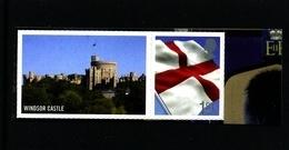 GREAT BRITAIN - 2009  1st CLASS  ENGLAND FLAG  LITHO EX SMILERS   MINT NH - 1952-.... (Elisabetta II)