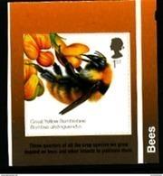 GREAT BRITAIN - 2015  BEES  SELF ADHESIVE EX BOOKLET  MINT NH - 1952-.... (Elisabetta II)