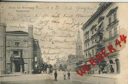 Gruss Aus Bromberg V. 1905 Die Danzigerstrasse   (50646) - Schlesien