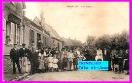 27 FRENELLES  Fête St-Jean Devant Chez BEDARD - Autres Communes