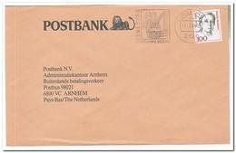 Duitsland 1989, Abstempelung Lüneburg Die 1000 Jährige Salzstadt - Brieven En Documenten