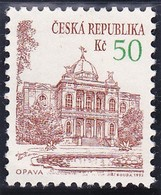 Timbre-poste Gommé Neuf** - Monuments Architecturaux D'Opava - N° 21 (Yvert) - République Tchèque 1993 - Tchéquie