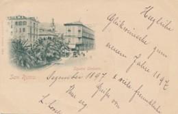 U.990.  SAN REMO - Square Umberto - 1897!! - San Remo
