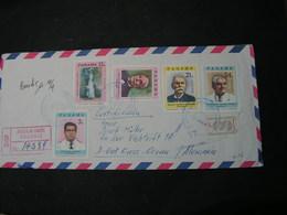 Panama  Air Mail , Obario R Cv.  1973 - Panama