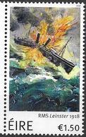2018 Irland Mi.  **MNH RMS Leinster 1918 - Neufs