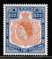 BERMUDES - N° 730 ** (1996) Timbre Express - 22 Dollars - Bermuda
