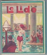 """LE LIDO Des Champs Elysées La Plage De Paris - Rare Dépliant 1935 Tarifs """"Venise à Paris"""" Soirée Dansante,casino... - Dépliants Touristiques"""