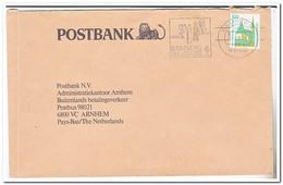Duitsland 1989, Abstempelung LandesTÜRNfest Bamberg - Brieven En Documenten