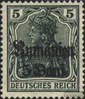 German. Military Administration. Romania 8a With Hinge 1918 Germania - Romania