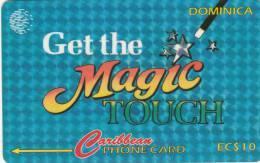 DOMINICA(GPT) - Magic Touch, CN : 78CDMC, Tirage 10000, Used - Dominica