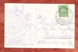 AK Gesolei Planetarium, EF Adler, SoSt Gesundheitspflege Grosse Ausstellung Duesseldorf, Nach Braunschweig 1926 (61199) - Deutschland