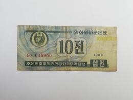 COREA DEL NORD 10 CHON 1988 - Corea Del Nord
