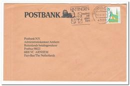 Duitsland 1989, Abstempelung Hattingen Modern Mit Altern Kern - Brieven En Documenten