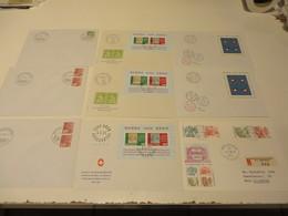 SCHWEIZ  Posten  F D C  -  BELEGE  Und  SONDERBELEGE - Briefmarken