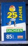 Deutschland PostModern '25 J. Jugendfeuerwehr Sachsen' / Germany '25th Ann. Of Junior Firefighters Saxony' **/MNH 2015 - Feuerwehr