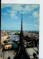 """U4053 Postcard Fleche De Notre Dame - Chiesa Eglise Church Kircke _ """"paries Et Ses Merveilles"""" Series 5166 Ed Laconte - Chiese E Cattedrali"""