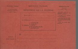 CARTE FRANCHISE MILITAIRE - 14/18 - BLESSES (3) - NON ECRITE - TTBE - Marcophilie (Lettres)