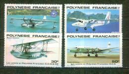 Catalina, Twin Otter, CAMS 55, Douglas DC 6 - POLYNESIE FRANCAISE - Avions - Hydravions - 1980 - Poste Aérienne