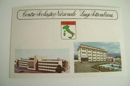 Centro Scolastico Nazionale - Luigi Settembrini - Cicciano - POGGIOMARINO  Napoli   SCUOLA SCHOOL  NON VIAGGIATA - Scuole