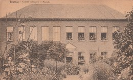 Tournai. Cercle Militaire- Façade---scan-- - Tournai