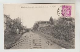 CPSM ECHEMIRE (Maine Et Loire) - L'arrivée De Sermaize - Andere Gemeenten