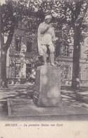 Brugge, Bruges, La Première Statue Van Eyck (pk51764) - Brugge