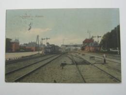 Carte Postale  , Briefkaart ,  ALMELO , Gare  1923 - Almelo
