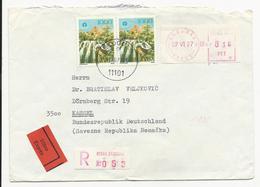 Cover * Yugoslavia * 1977 * Beograd * Registered * Exprès - 1945-1992 Sozialistische Föderative Republik Jugoslawien