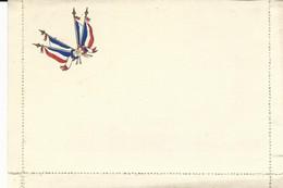 CARTE FRANCHISE MILITAIRE - 14/18 - CARTE LETTRE - DRAPEAUX FRANCAIS - NON ECRITE - TTBE - Marcophilie (Lettres)