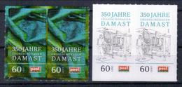 Deutschland PostModern '350 J. Grossschönauer Damast' / Germany '350th Ann. Of Damask Production' **/MNH 2016 - Textile