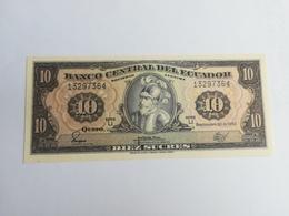 ECUADOR 10 SUCRES 1982 - Equateur