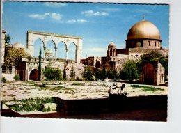 U4062 Postcard JERUSALEM (ISRAEL) DOME OF THE ROCK - GERUSALEMME, ISRAELE _ 31 Copyright Rex Studio Garbis - Israele