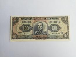 ECUADOR 100 SUCRES 1980 - Equateur