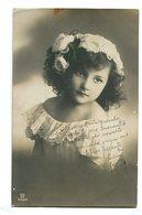 NIÑA TIERNA CUTE LITTLE GIRL CHILD ENFANT CIRCA 1900S POSTAL CARD -LILHU - Portretten