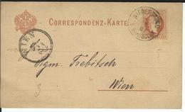 Österreich P25 Niedergrund 25.7.82 Nach Wien - Enteros Postales