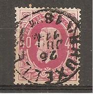 Bélgica - Belgium - Yvert  34 (usado) (o) - 1869-1883 Leopold II