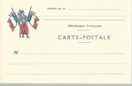 CARTE FRANCHISE MILITAIRE - 14/18 - ZOUAVE - NON ECRITE - TTBE - Marcophilie (Lettres)