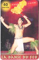FRENCH POLYNESIA(chip) - La Danse Du Feu, Tirage 60000, 07/03, Used - French Polynesia