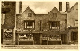 YORKS - KNARESBOROUGH - THE OLDEST PHARMACY IN ENGLAND  Y628a - Andere