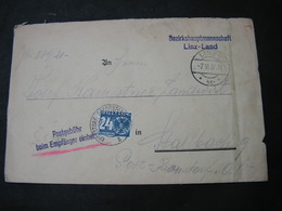 Linz Land , Bei Empfänger Kassieren 1937 - 1918-1945 1. Republik