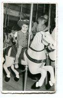 NIÑO VAQUERO CALESITA CALESITE COWBOY CHILD ENFANT YEAR 1959 PHOTO SIZE 8.5X13.5 -LILHU - Personas Anónimos