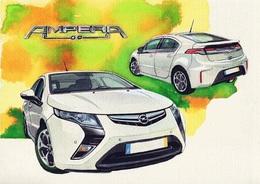 @@@ MAGNET - Opel Ampera - Publicitaires
